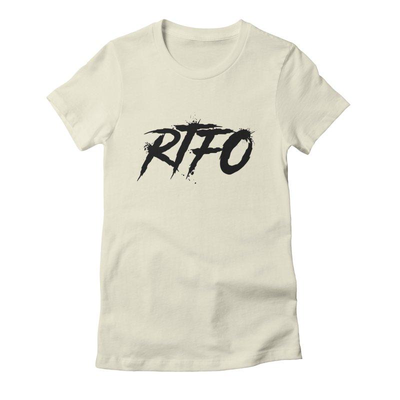 RTFO Women's Fitted T-Shirt by Mike Hampton's T-Shirt Shop