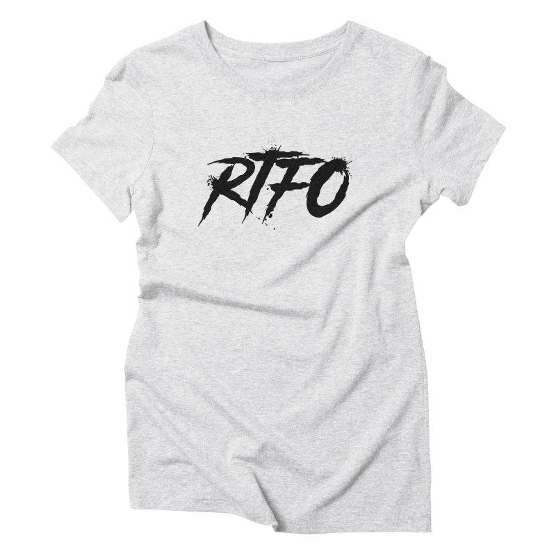 RTFO Women's Triblend T-Shirt by Mike Hampton's T-Shirt Shop