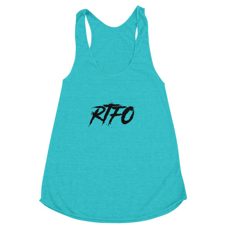 RTFO Women's Racerback Triblend Tank by Mike Hampton's T-Shirt Shop