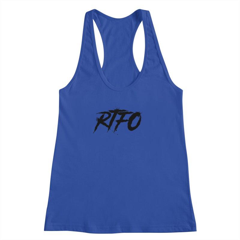 RTFO Women's Racerback Tank by Mike Hampton's T-Shirt Shop