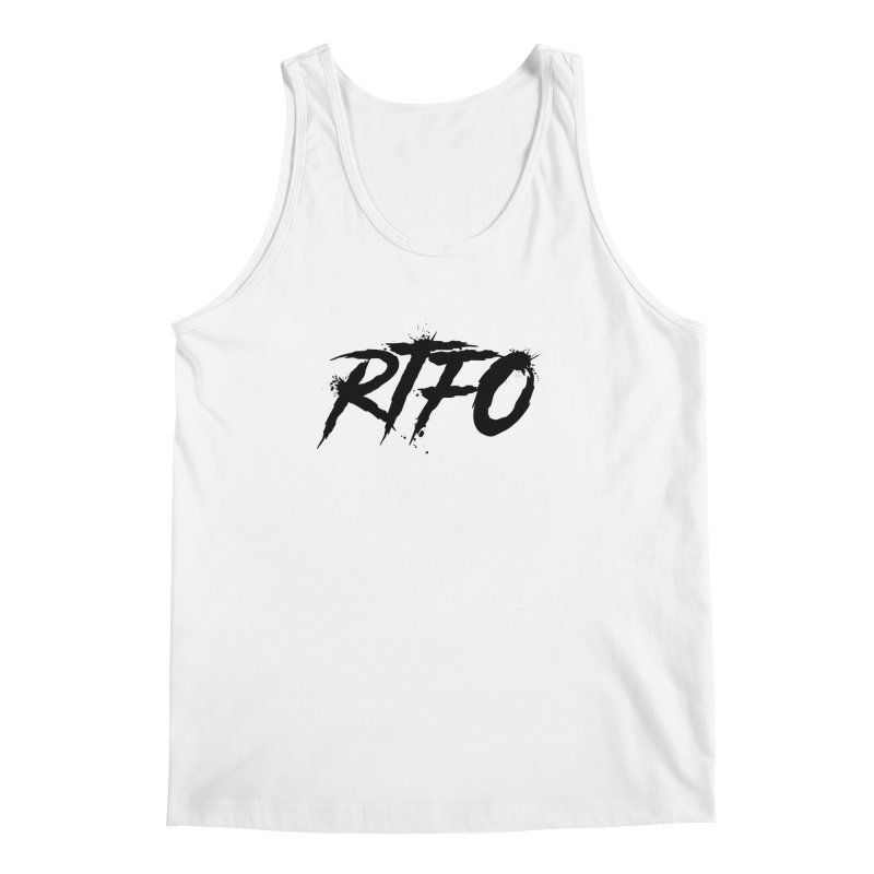 RTFO Men's Regular Tank by Mike Hampton's T-Shirt Shop