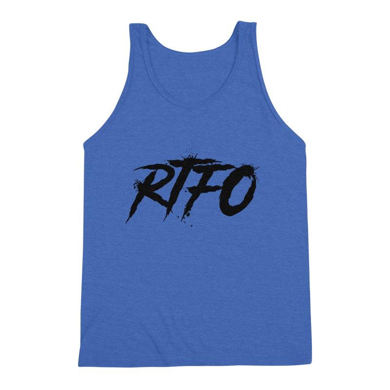 RTFO Men's Triblend Tank by Mike Hampton's T-Shirt Shop
