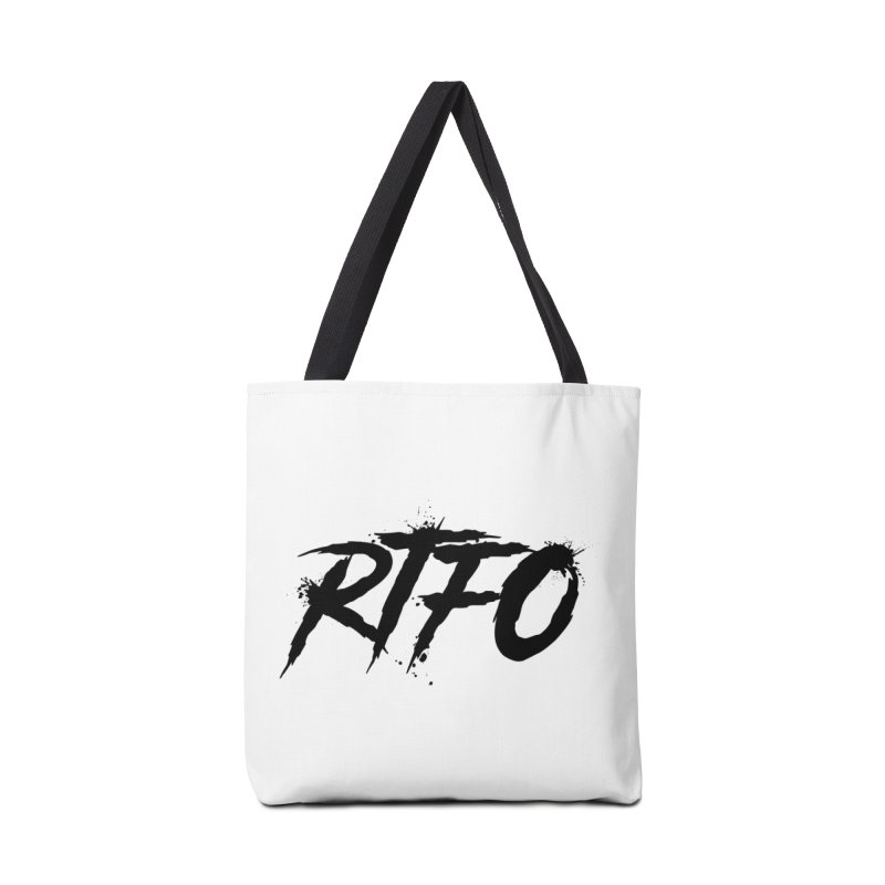RTFO Accessories Tote Bag Bag by Mike Hampton's T-Shirt Shop
