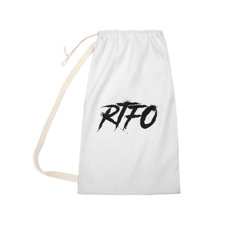 RTFO Accessories Laundry Bag Bag by Mike Hampton's T-Shirt Shop