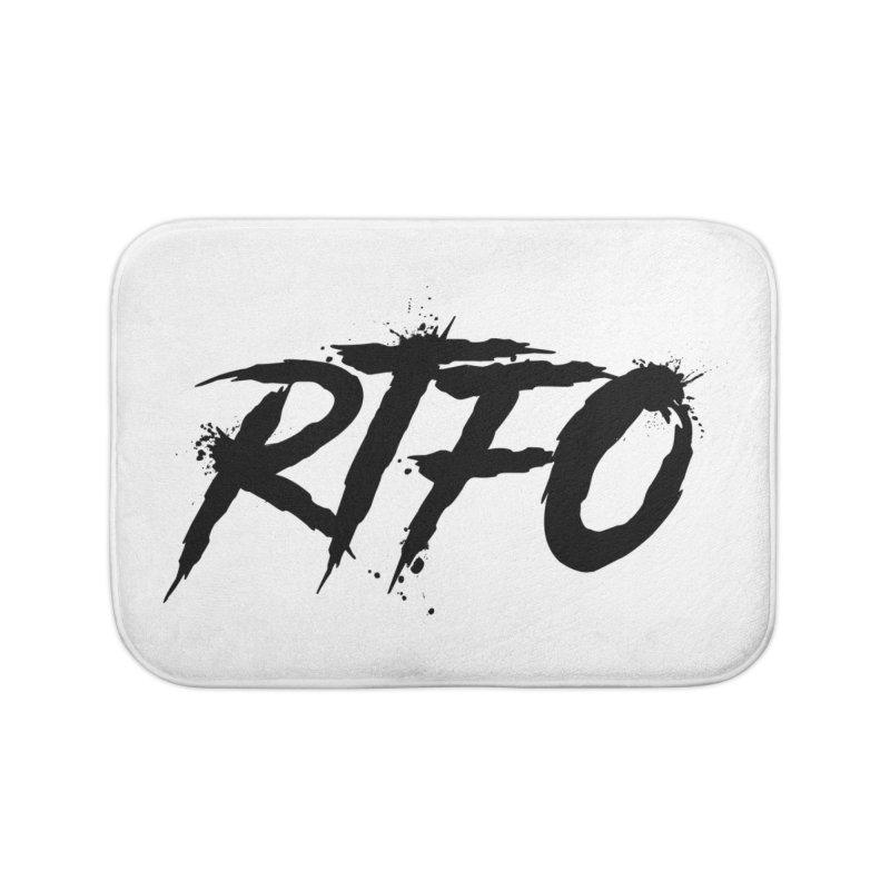 RTFO Home Bath Mat by Mike Hampton's T-Shirt Shop