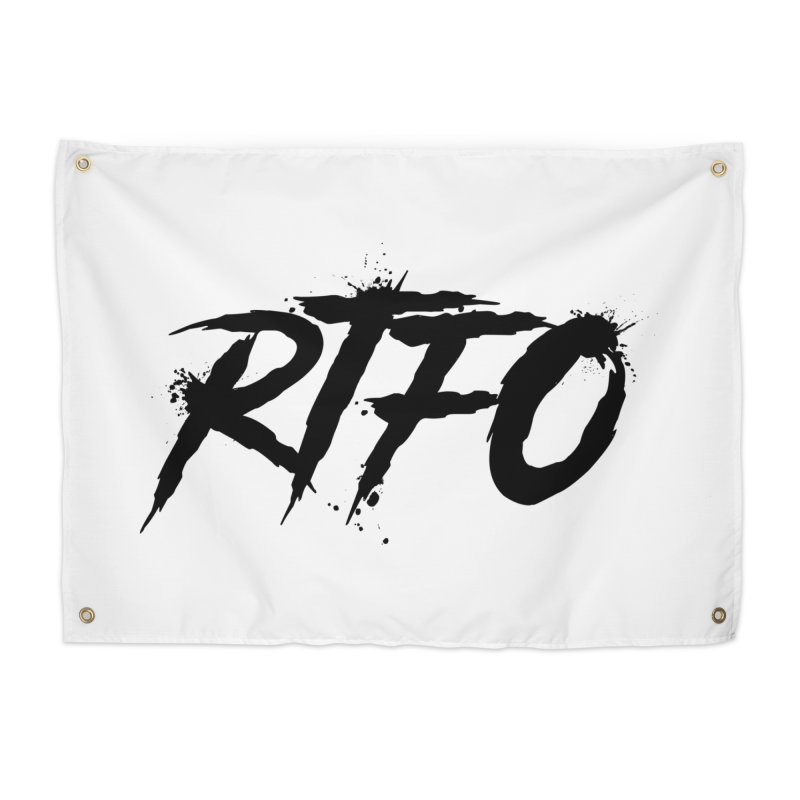 RTFO Home Tapestry by Mike Hampton's T-Shirt Shop