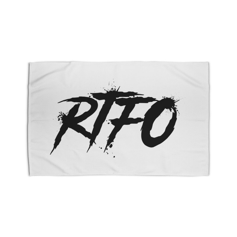 RTFO Home Rug by Mike Hampton's T-Shirt Shop