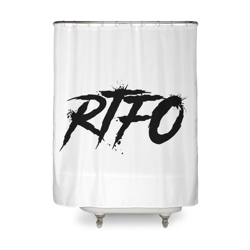 RTFO Home Shower Curtain by Mike Hampton's T-Shirt Shop