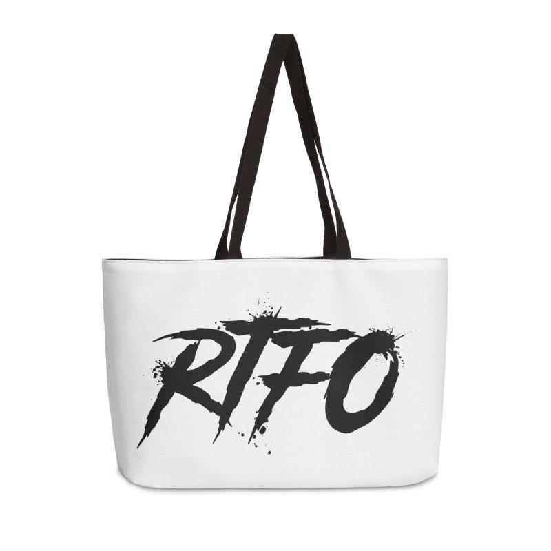 RTFO Accessories Weekender Bag Bag by Mike Hampton's T-Shirt Shop