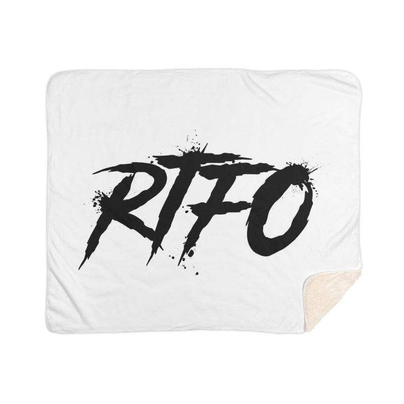 RTFO Home Sherpa Blanket Blanket by Mike Hampton's T-Shirt Shop