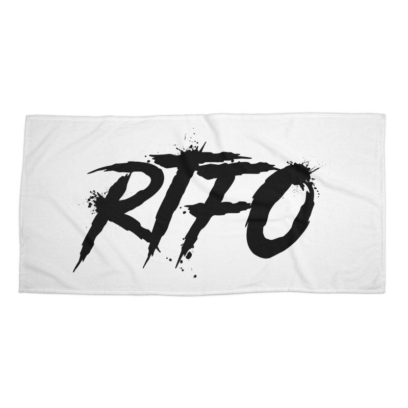 RTFO Accessories Beach Towel by Mike Hampton's T-Shirt Shop
