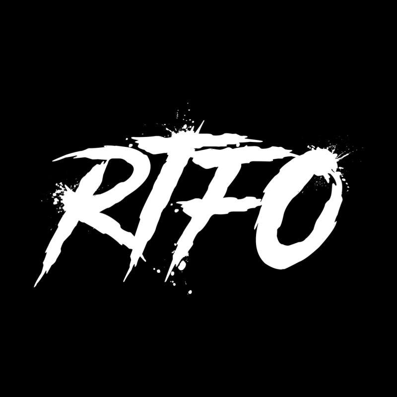 RTFO (alt logo) Men's Pullover Hoody by Mike Hampton's T-Shirt Shop