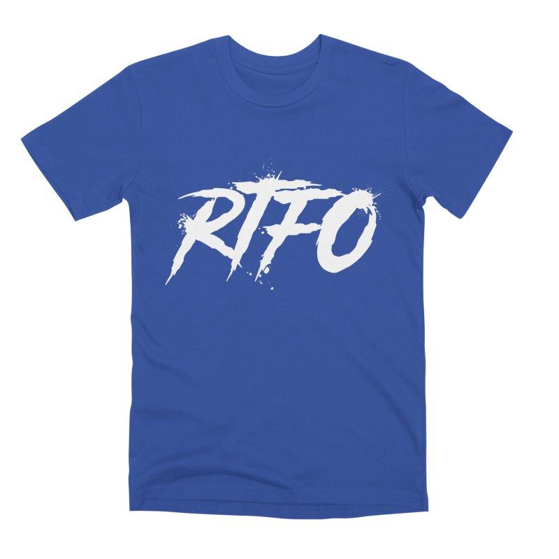 RTFO (alt logo) Men's T-Shirt by Mike Hampton's T-Shirt Shop