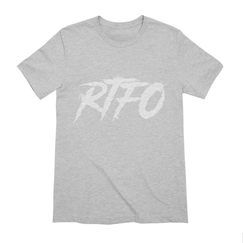 RTFO (alt logo) Men's Extra Soft T-Shirt by Mike Hampton's T-Shirt Shop