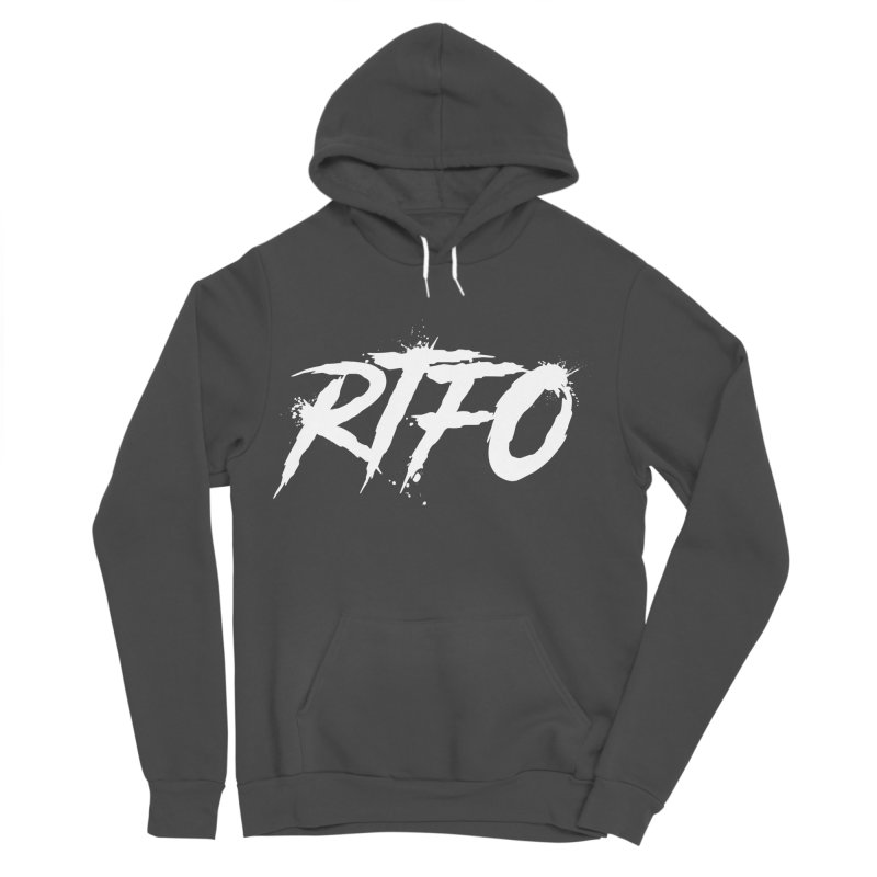 RTFO (alt logo) Women's Sponge Fleece Pullover Hoody by Mike Hampton's T-Shirt Shop