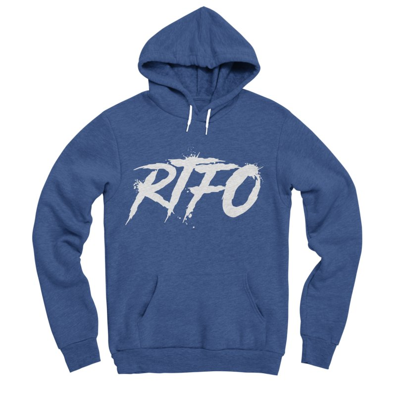 RTFO (alt logo) Men's Sponge Fleece Pullover Hoody by Mike Hampton's T-Shirt Shop