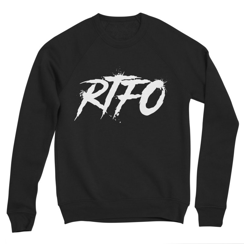 RTFO (alt logo) Men's Sponge Fleece Sweatshirt by Mike Hampton's T-Shirt Shop