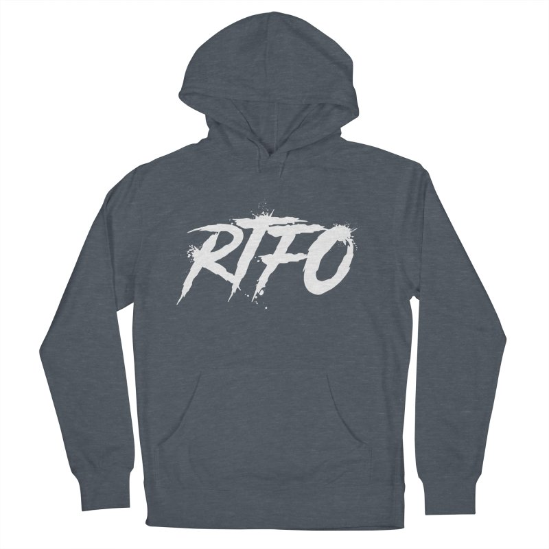 RTFO (alt logo) Women's French Terry Pullover Hoody by Mike Hampton's T-Shirt Shop