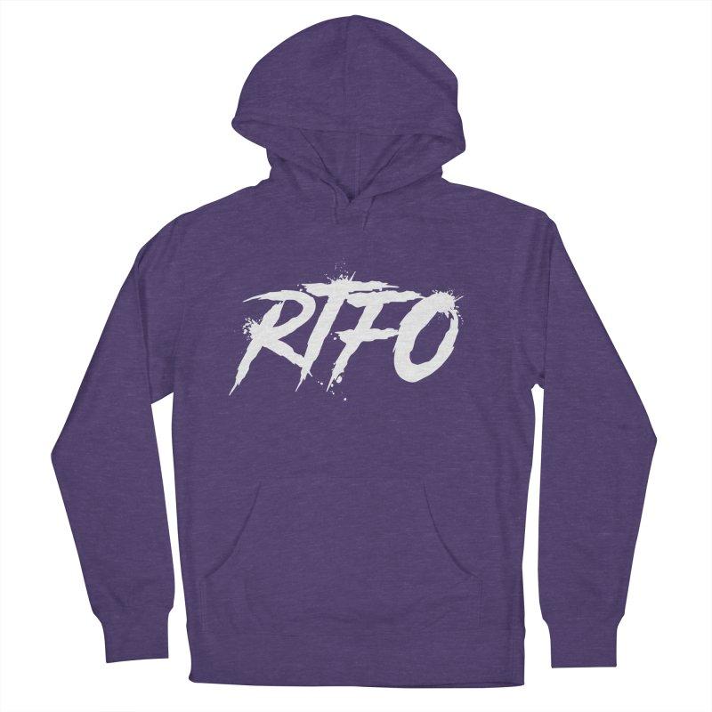RTFO (alt logo) Men's French Terry Pullover Hoody by Mike Hampton's T-Shirt Shop