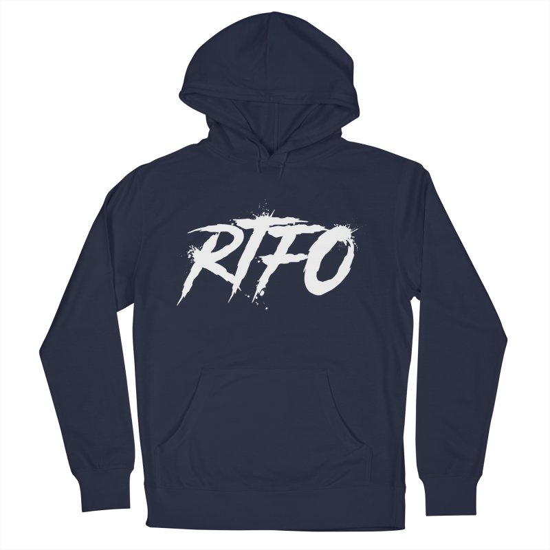 RTFO (alt logo) Men's Pullover Hoody by Mike Hampton's T-Shirt Shop