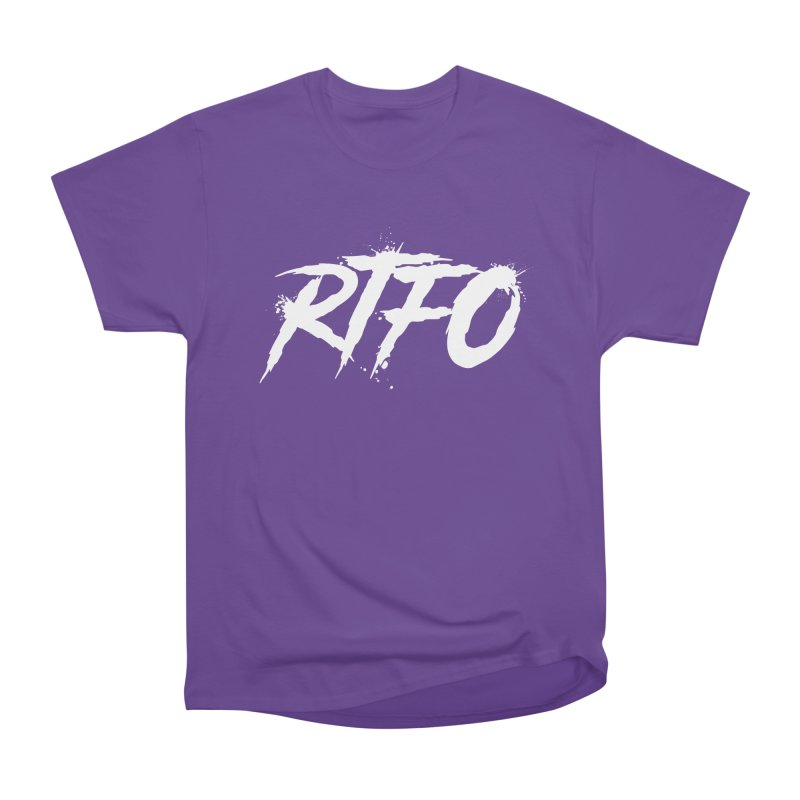 RTFO (alt logo) Men's Heavyweight T-Shirt by Mike Hampton's T-Shirt Shop