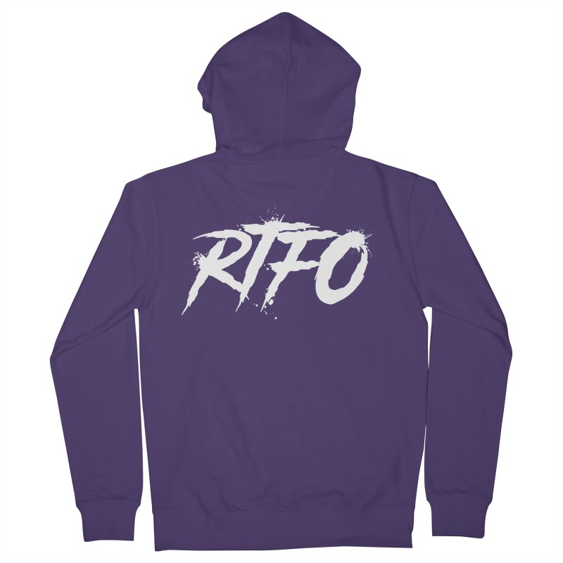 RTFO (alt logo) Women's French Terry Zip-Up Hoody by Mike Hampton's T-Shirt Shop
