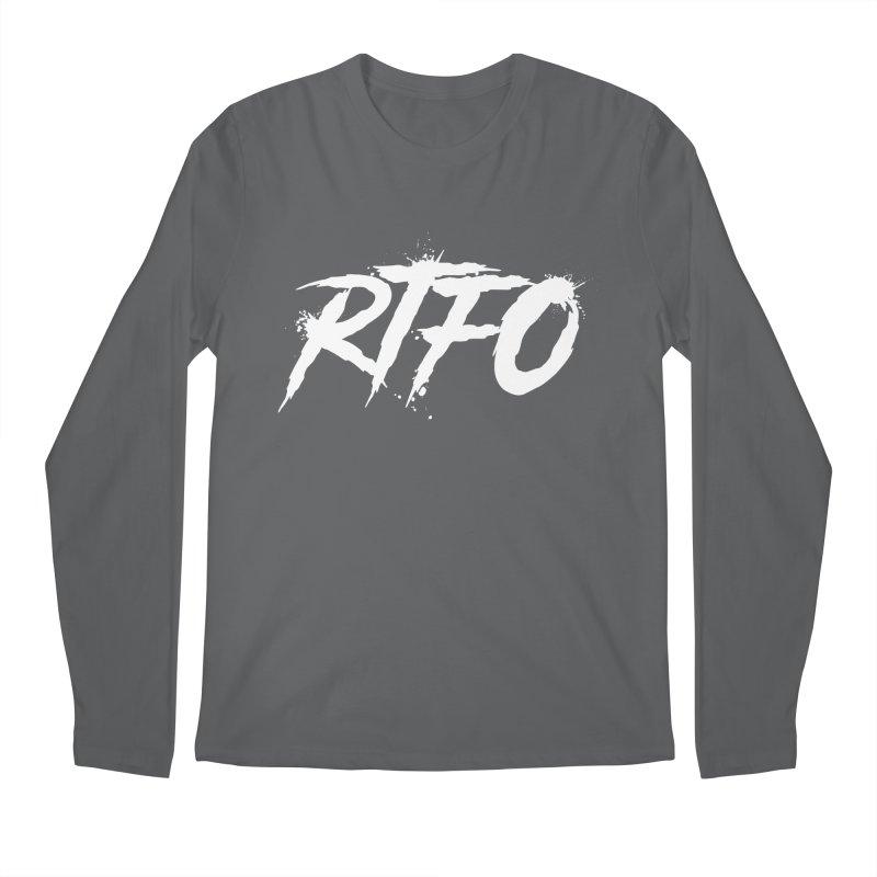 RTFO (alt logo) Men's Regular Longsleeve T-Shirt by Mike Hampton's T-Shirt Shop