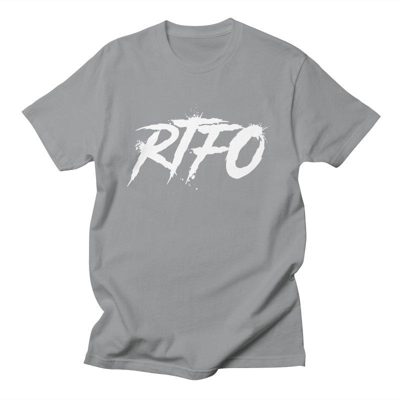 RTFO (alt logo) Women's Regular Unisex T-Shirt by Mike Hampton's T-Shirt Shop