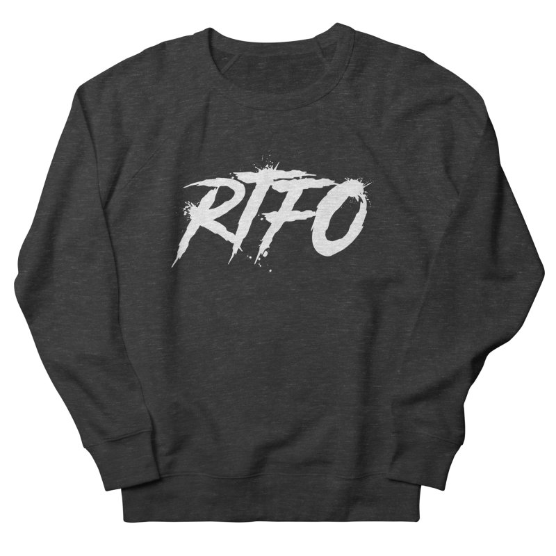 RTFO (alt logo) Women's French Terry Sweatshirt by Mike Hampton's T-Shirt Shop