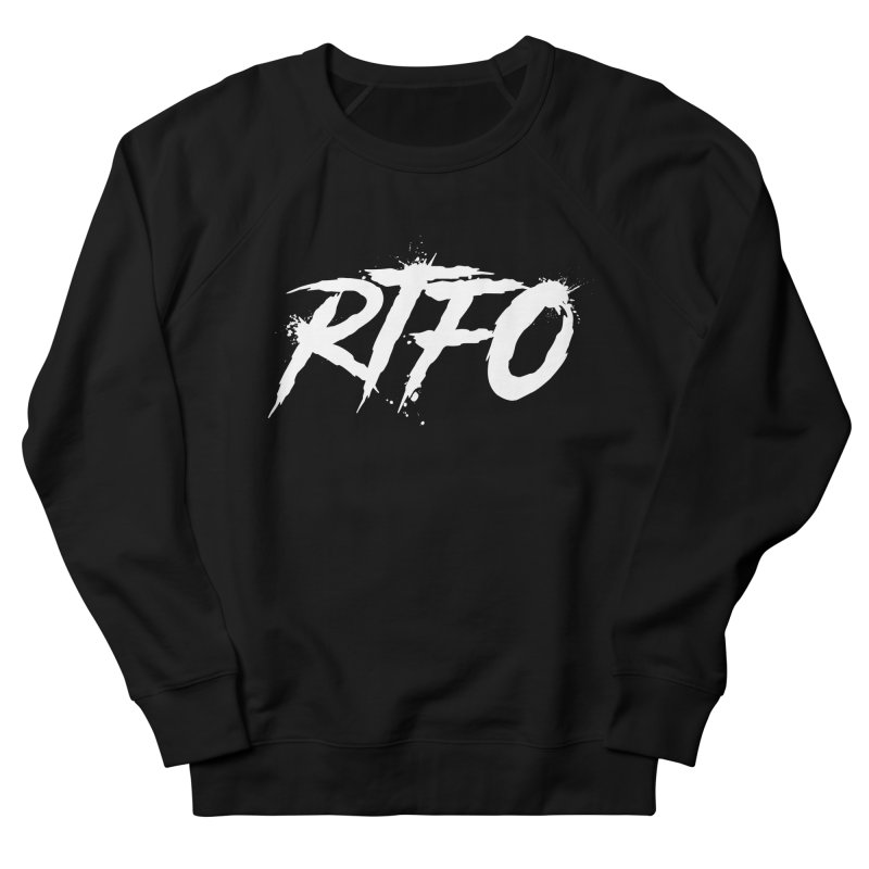 RTFO (alt logo) Men's French Terry Sweatshirt by Mike Hampton's T-Shirt Shop