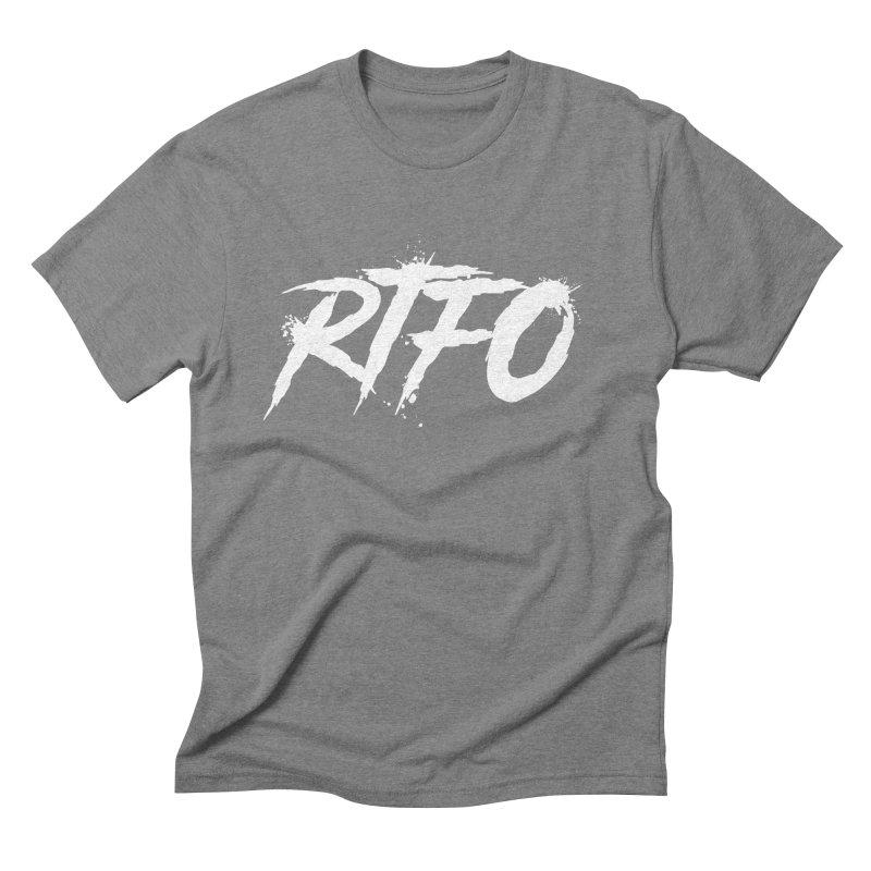 RTFO (alt logo) Men's Triblend T-Shirt by Mike Hampton's T-Shirt Shop