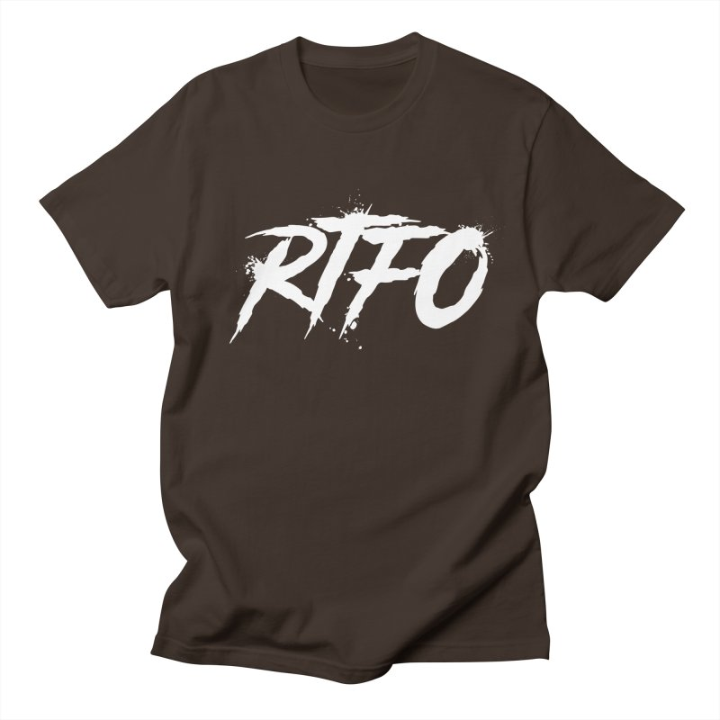 RTFO (alt logo) Men's Regular T-Shirt by Mike Hampton's T-Shirt Shop