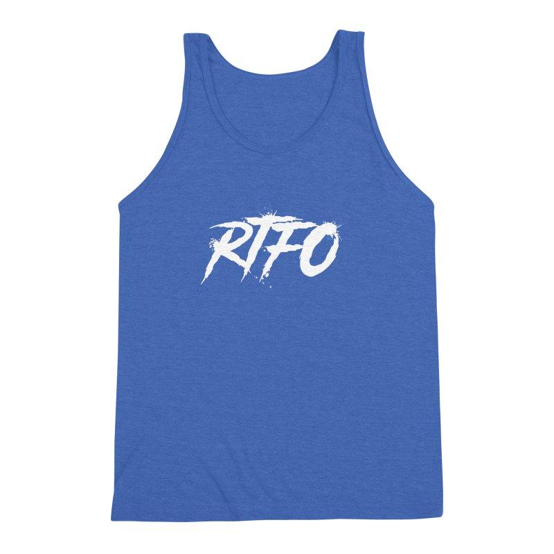 RTFO (alt logo) Men's Triblend Tank by Mike Hampton's T-Shirt Shop