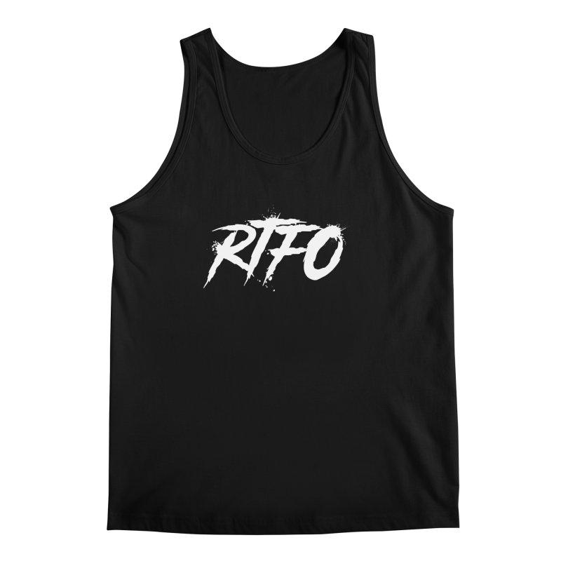 RTFO (alt logo) Men's Regular Tank by Mike Hampton's T-Shirt Shop