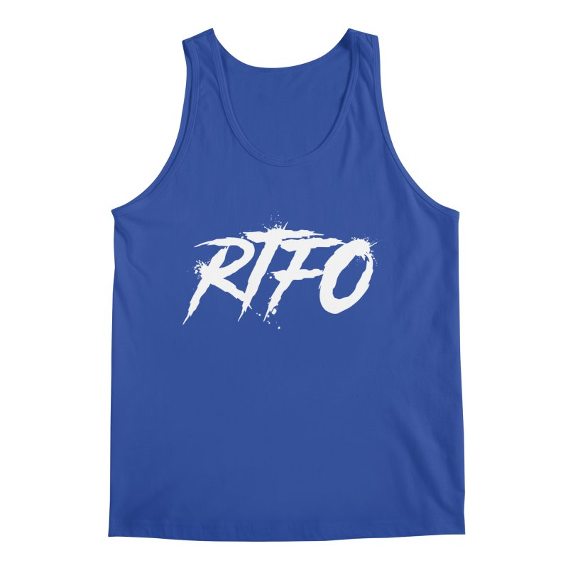 RTFO (alt logo) Men's Regular Tank by Mike Hampton's T-Shirt Shop