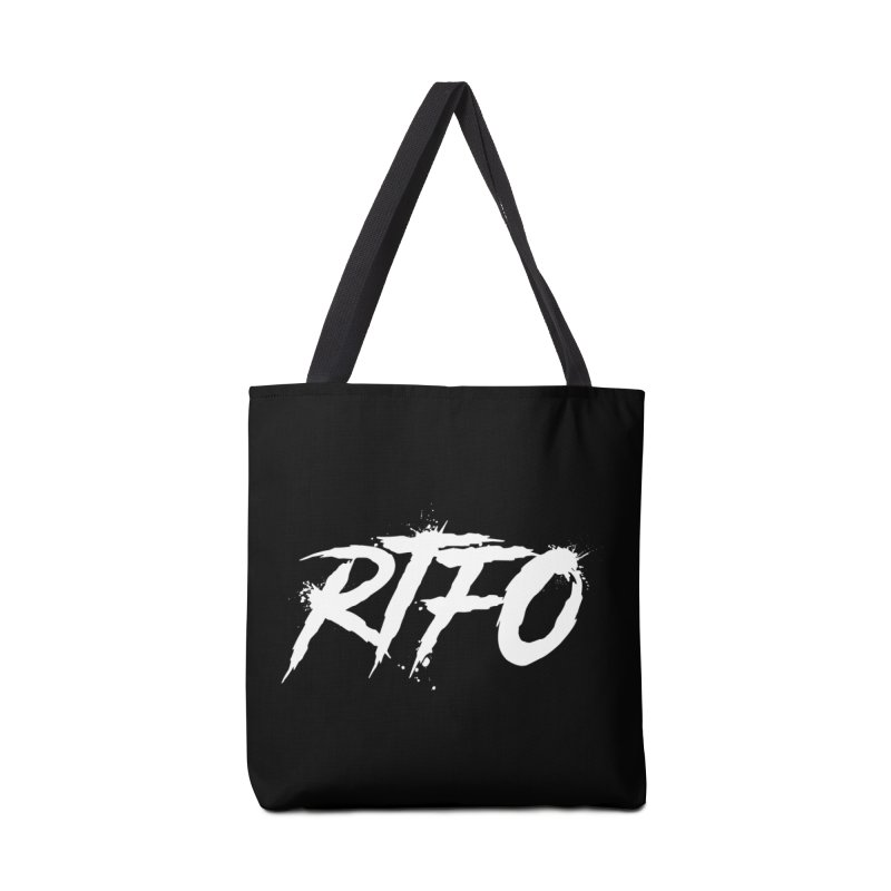 RTFO (alt logo) Accessories Tote Bag Bag by Mike Hampton's T-Shirt Shop