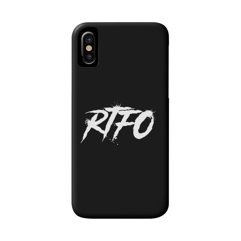 RTFO (alt logo) Accessories Phone Case by Mike Hampton's T-Shirt Shop