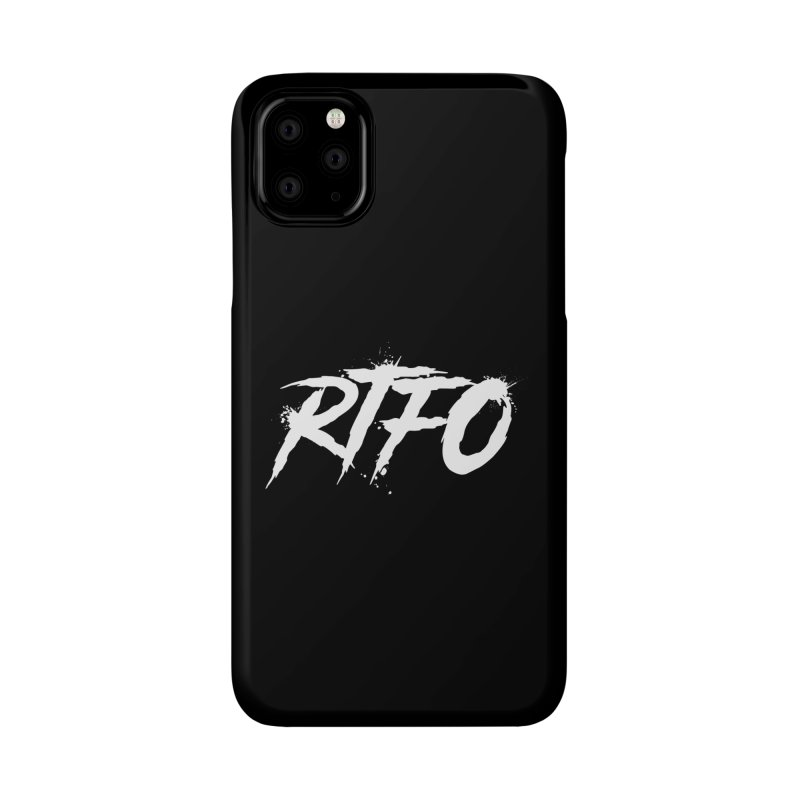 RTFO (alt logo) Accessories Phone Case by Mike Hampton's T-Shirt Shop