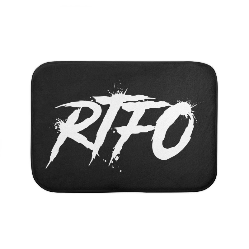 RTFO (alt logo) Home Bath Mat by Mike Hampton's T-Shirt Shop
