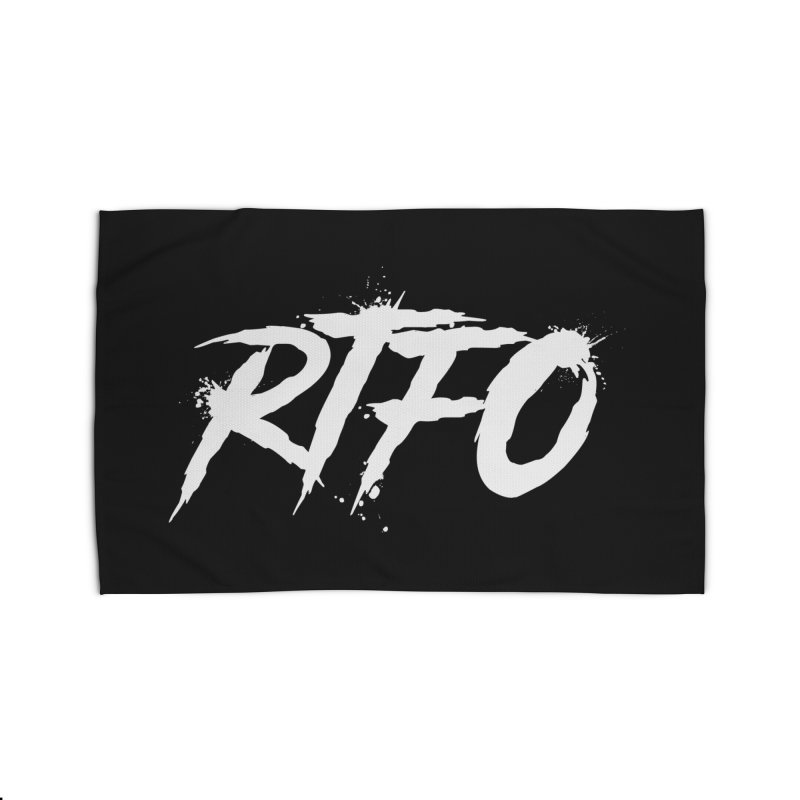 RTFO (alt logo) Home Rug by Mike Hampton's T-Shirt Shop