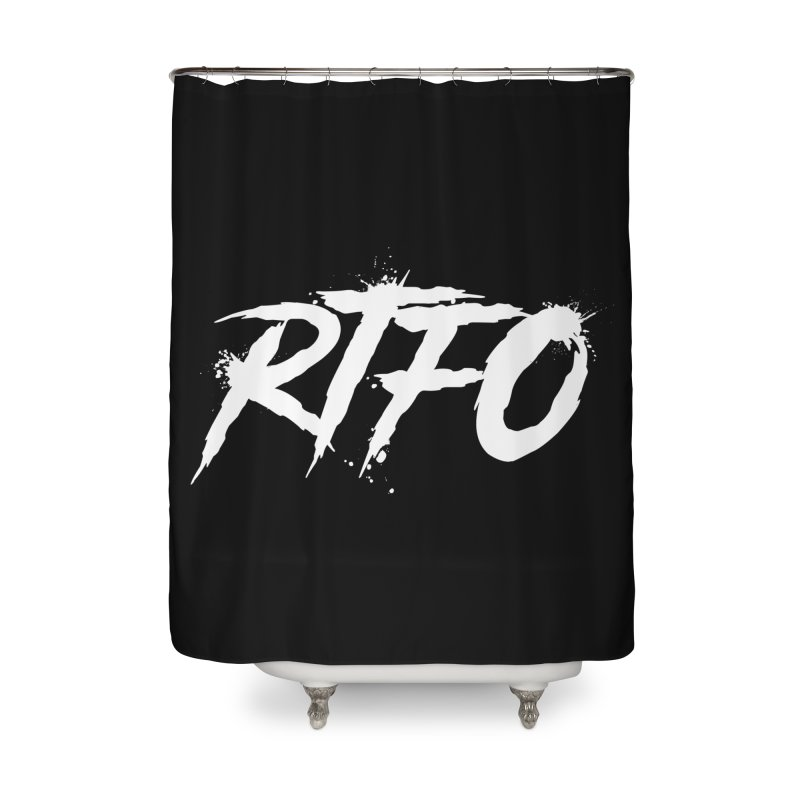 RTFO (alt logo) Home Shower Curtain by Mike Hampton's T-Shirt Shop