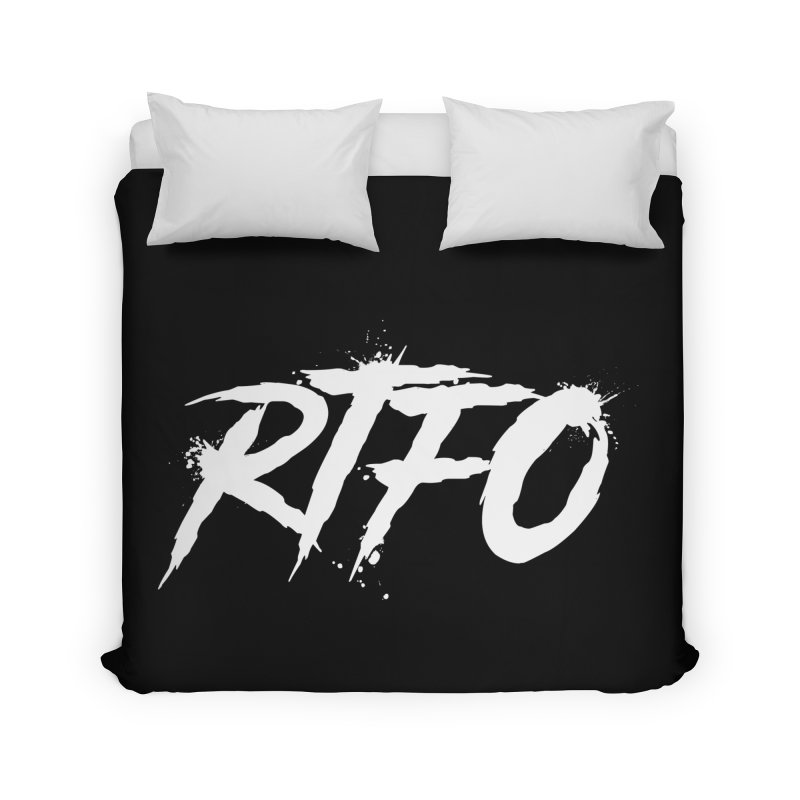 RTFO (alt logo) Home Duvet by Mike Hampton's T-Shirt Shop