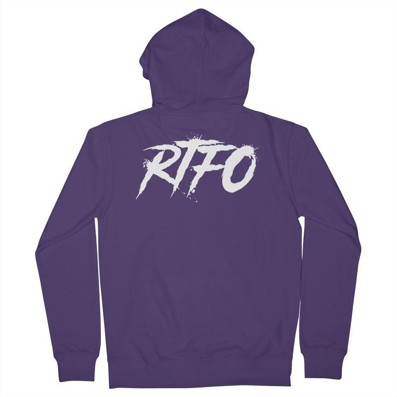 RTFO (alt logo) Women's Zip-Up Hoody by Mike Hampton's T-Shirt Shop