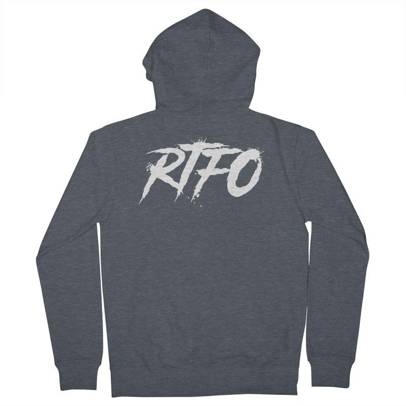 RTFO (alt logo) Men's Zip-Up Hoody by Mike Hampton's T-Shirt Shop