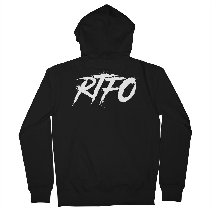 RTFO (alt logo) Men's Zip-Up Hoody by Mike Hampton's T-Shirt Shop