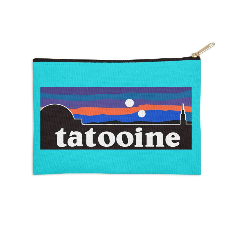 I Hate Sand Accessories Zip Pouch by Mike Hampton's T-Shirt Shop
