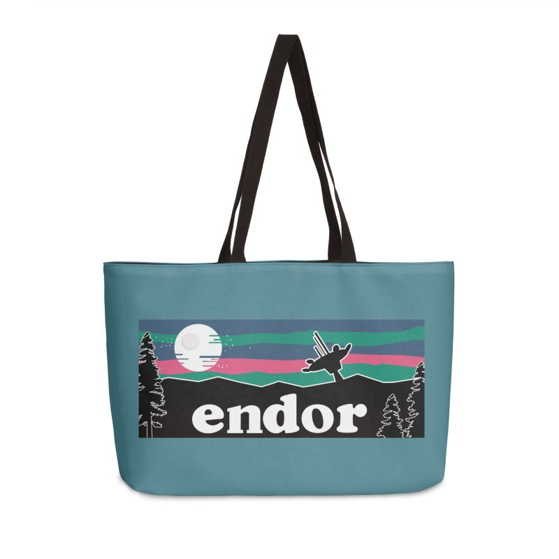 That's no Moon Accessories Weekender Bag Bag by Mike Hampton's T-Shirt Shop