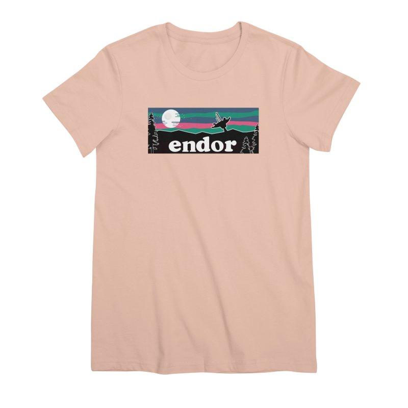 That's no Moon Women's Premium T-Shirt by Mike Hampton's T-Shirt Shop