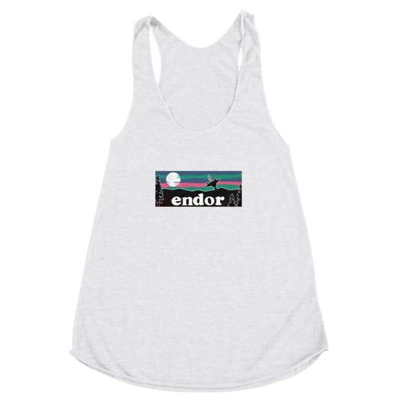 That's no Moon Women's Racerback Triblend Tank by Mike Hampton's T-Shirt Shop