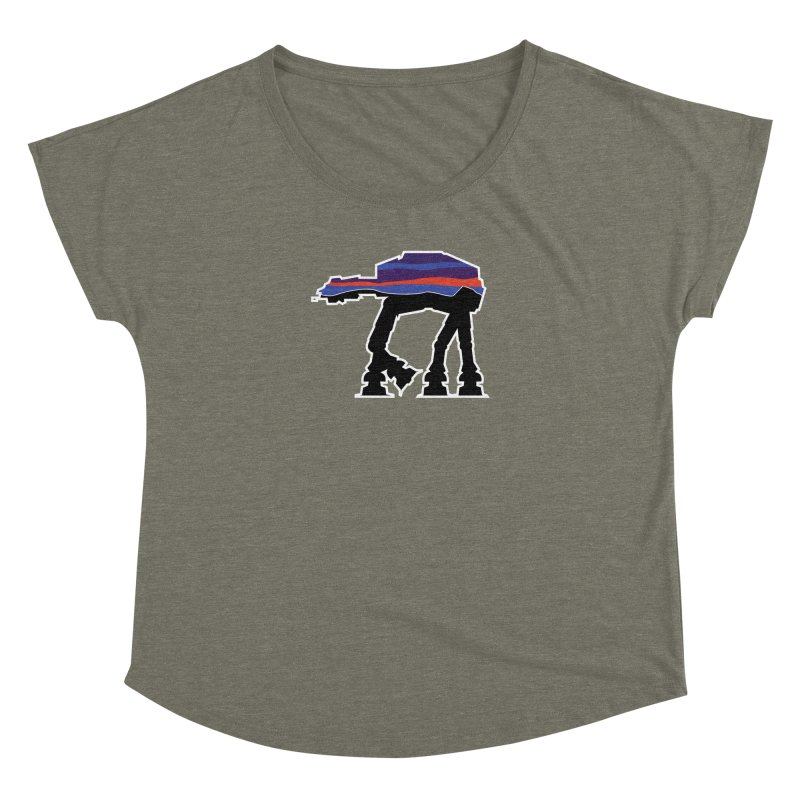 Walking thing.. Women's Dolman Scoop Neck by Mike Hampton's T-Shirt Shop